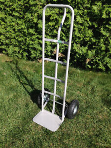 "Dolly/ Chariots en tube d'acier Steel Hand Truck Trolley 10""gray"