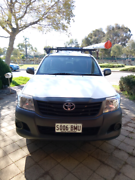 Toyota Hilux workmate ready for NBN, HFC, TELSTRA  CONTRACTORS  Oakden Port Adelaide Area Preview