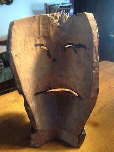 Wooden Mask Belleville Belleville Area image 3