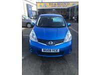 Nissan Note 1.4 09 plate Acenta
