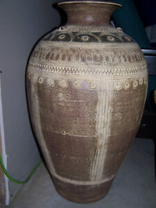 Decorative Urn and Clay Planter