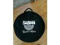 Sabian cymbal bag with x4 solar by sabian