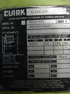 Clark Tow Motor