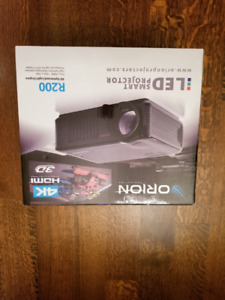*BRAND NEW* Orion R200 LED Projector+ Orion Smart Screen