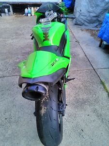 2007 KAWASAKI ZX6R TWO BROTHERS EXHAUST MONSTER ENERGY Windsor Region Ontario image 1