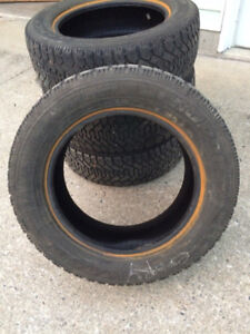 4 - 215/65/R16 Goodyear Nordic winter tires for sale