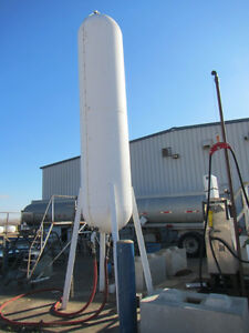 1000 Gal Bulk Fuel Storage Tank with Stand & Nozzle