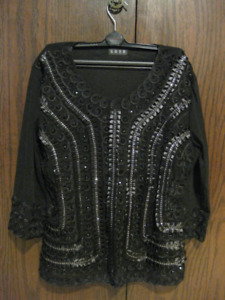 """""""SHZX"""" jeweled top for sale"""