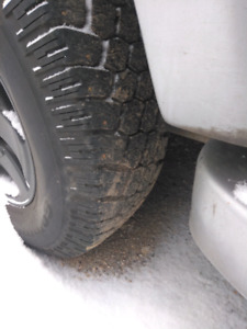 Winter tires BFG 245/75/16 studded