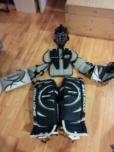 Equipement de gardien de but hockey