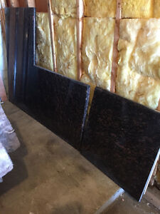 Granite counter top 2 pieces