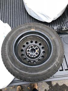 Winter Tires & Rims P185/70R 14