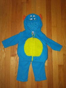 Carter's Blue Monster Halloween Costume - 18 Months