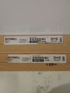 Creston BC IKEA 4 Rationell inside cabinet shelves birch look