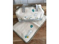 Brand new baby changing bag with mat