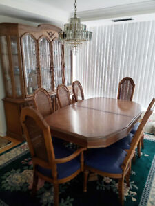 French Antique Dining Room Set