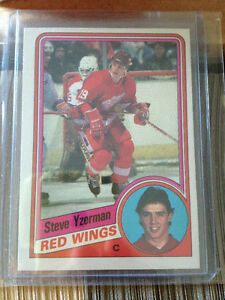 1984/85 O Pee Chee NHL hockey set Yzerman Chelios Gilmour RC's