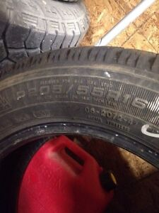 Goodyear Nordic Snow tires 205 55 15 NEW! Only 100 km! Regina Regina Area image 5