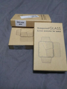3 fitbit surge glass screen protector