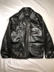 Pegabo Leather jacket Men's Small