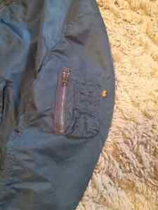 MA-1 Dark Blue Bomber Jacket Windsor Region Ontario image 4