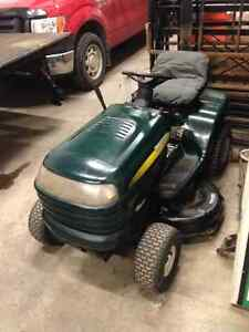 "42"" used craftsman tractor 15.5 Hp"