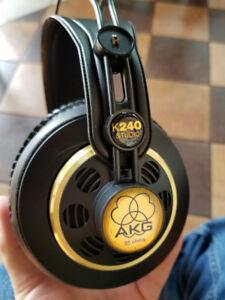 akg k240 pro audio equpiment. mixing mastering sennheiser