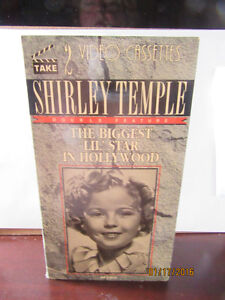 SHIRLEY TEMPLE The Biggest Lil Star in Hollywood 2 Volume VHS