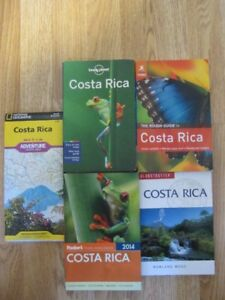 Costa Rica Map and Travel Guides