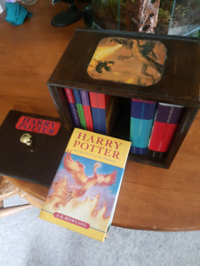 Harry potter One of a kind handcrafted complete series  box set