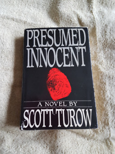 """Presumed Innocent"" by Scott Turow"