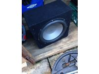 "12"" Sub Subwoofer in nice box"