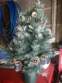 80cm fibre optic xmas tree