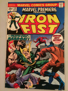 Marvel Premiere 19! Iron Fist! First Colleen Wing!