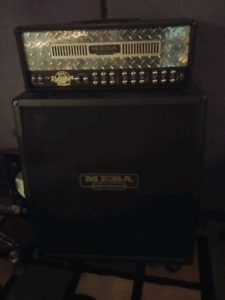 Mesa Dual-Rectifier 100w head and cab