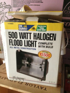 500 W Halogen Spotlight / Flood Light / Work Light