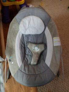 Ingenuity automatic bouncy seat