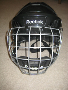 Youth Reebok Hockey Helmet - Size x-small with face mask