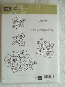 """""""Stampin' Up"""".....""""I like you""""...new"""
