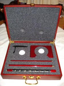 Kit baton golf ( putter ) intérieur + coffret de luxe