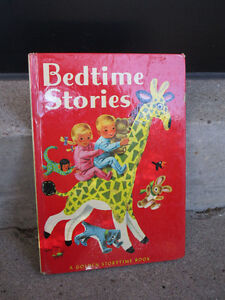 Variety of Children's Books from 1950's and 1960's Kids.