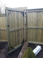FENCING DECKING
