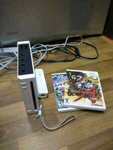 Nintendo Wii plus 2 games and controller