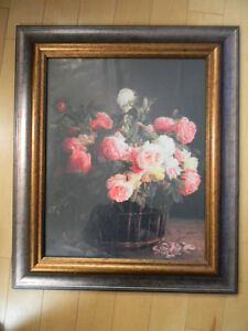 Flower Picture ---Excellent Condition