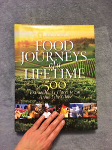 National Geographic Food Journeys of a Lifetime Book