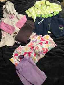 Assorted girls clothing: 2T