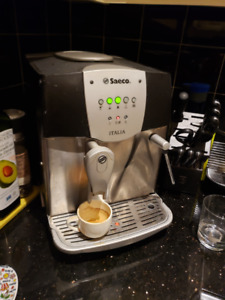 Saeco Italia, fully automatic espresso machine coffee maker