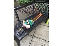 Nearly new hedge trimmer