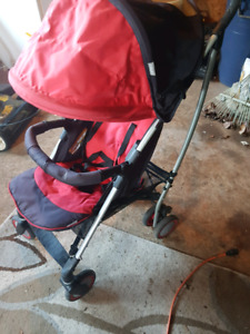 Baby stuff. Stroller. High chair etc.