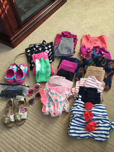 Brand Name Girl's Clothing + Shoes (Size 4T--6)
